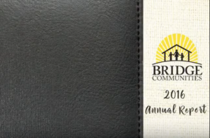 Bridge Communities 2016 Annual Report